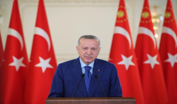 Cumhurbaşkanı Erdoğan'dan EURO 2020 açılış maçı için A Milli Takım'a destek paylaşımı
