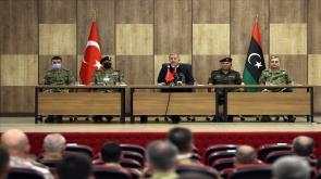 """Millî Savunma Bakanı Hulusi Akar: """"Kardeş Olarak, Tek Yumruk, Tek Vücut Olarak Haklı Davalarında Libya İle Beraberiz"""""""