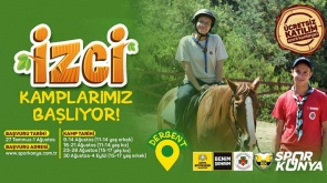 Konya Büyükşehir Belediyesi Gençler İçin İzcilik Kampı Düzenliyor