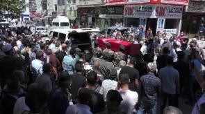 Boğularak hayatını kaybeden vazife malulü polis memuru son yolculuğuna uğurlandı