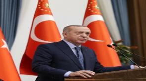 Cumhurbaşkanı Erdoğan, 2020 Tokyo Olimpiyat Oyunları'na katılan milli sporcuları tebrik etti