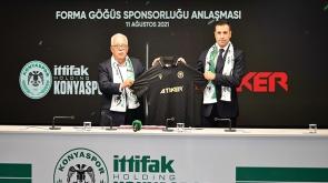 Atiker ile sponsorluk anlaşması imzaladı
