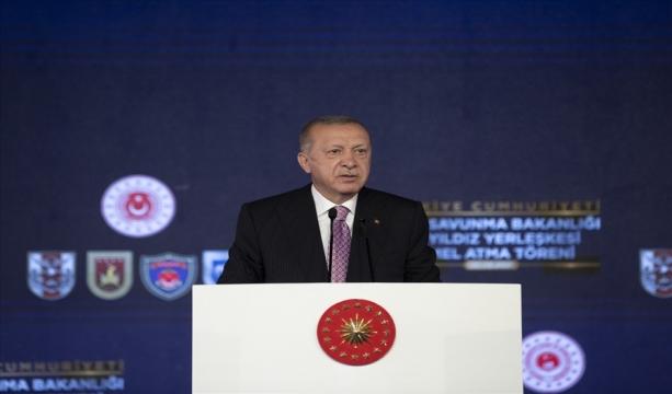 Cumhurbaşkanımız Sayın Erdoğan, Ay Yıldız Yerleşkesinin Temel Atma Töreni'nde Konuştu