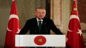 """Cumhurbaşkanı Erdoğan'dan """"Filenin Efeleri"""