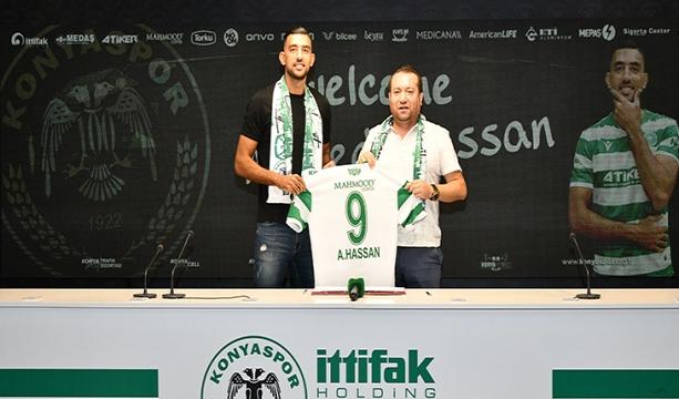 Ahmed Hassan İttifak Holding Konyaspor'umuzda