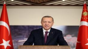 """Cumhurbaşkanı Erdoğan: """"Ülkemizin tökezlemesini, milletimizin birbirine düşmesini bekleyenlerin heveslerini kursaklarında bırakacağız"""""""