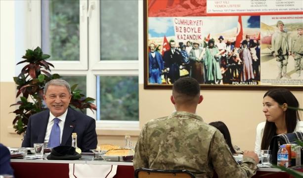 Gaziler Günü Dolayısıyla Millî Savunma Bakanlığında Tören Düzenlendi