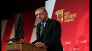 """Cumhurbaşkanı Erdoğan: """"Üretim, lojistik, kamu güvenliği, istihdam ve sosyal destekler alanlarında ülkemiz pozitif yönde ayrıştı"""""""