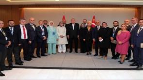"""Cumhurbaşkanı Erdoğan: """"Daha adil bir dünya için uluslararası topluma ne gibi sorumluluklar düştüğünü Genel Kurul kürsüsünden dile getirdik"""""""