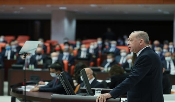 """Cumhurbaşkanı Erdoğan: """"Meclisimizin tamamının uzlaşmasıyla hazırlanacak bir yeni Anayasa, milletimize vereceğimiz en güzel 2023 hediyesi olacaktır."""""""