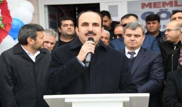 """Başkan Altay: """"Kadınhanı'na 121 milyon lira yatırım yaptık"""""""