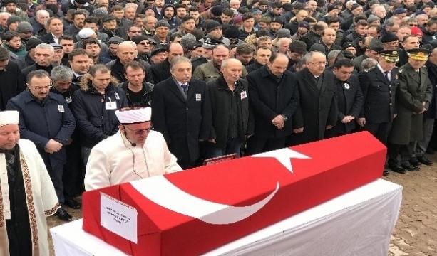 Konya'lı Şehit polis son yolculuğuna uğurlandı
