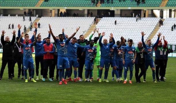 Atiker Konyaspor: 0 - Çaykur Rizespor: 2