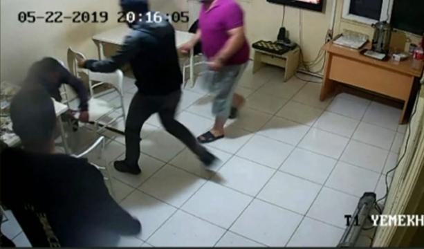 Giresun'da Gri listedeki teröristin yakalanma anı güvenlik kameralarına böyle yansıdı- Tıkla izle