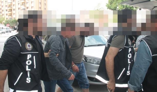 Konya'da Villanın bodrum katını uyuşturucu imalathanesine çeviren 3 kişi tutuklandı
