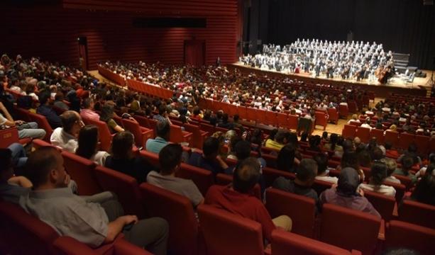 Cumhurbaşkanlığı Senfoni Orkestrasından Konya'da konser
