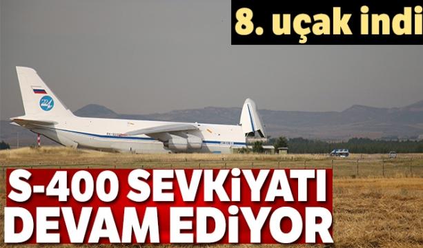 S-400 teslimatında sekizinci uçak Mürted'e indi - Tıkla İzle