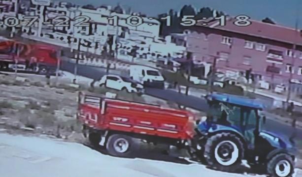 Konya'da Çarptı kaçtı, kamera kaydetti