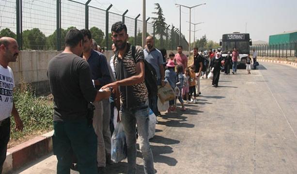 Bayramı ülkelerinde geçiren Suriyelilerin dönüşü başladı
