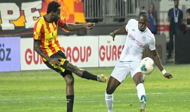 Konyaspor Göztepe'ye deplasmanda 1-0 kaybetti