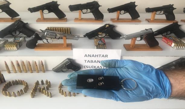 Konya dahil  10 ilde  Silah kaçakçılığından  83 kişi gözaltına alındı - Tıkla İzle -