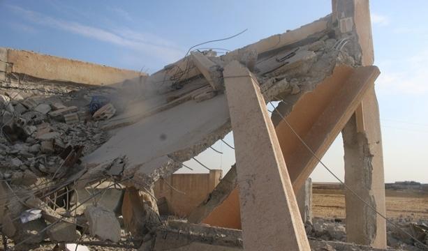 Rasulayn'dan çekilen PKK/YPG bölgedeki okulu kullanılamaz hale getirdi - Tıkla İzle -