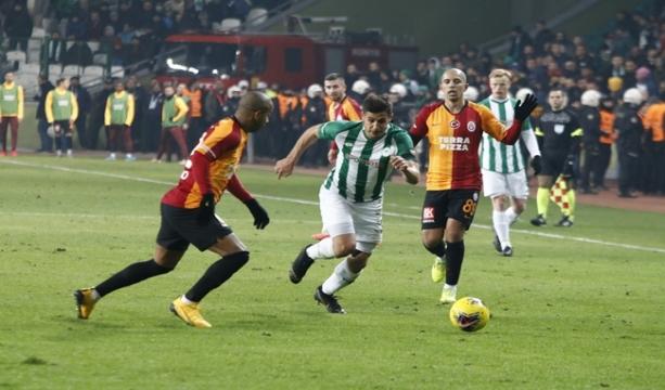 Konyaspor  0 - Galatasaray: 3