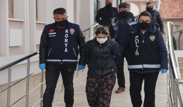 Konya'da Korona virüsten öldü ihbarının altından üvey anne cinayeti çıktı