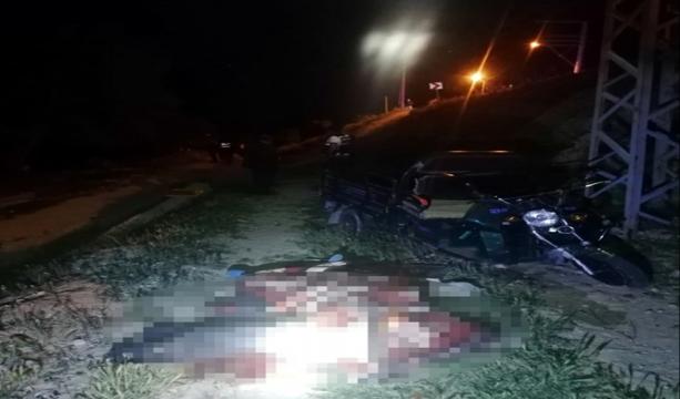 Konya'da triportör takla attı  2 ölü, 1 yaralı