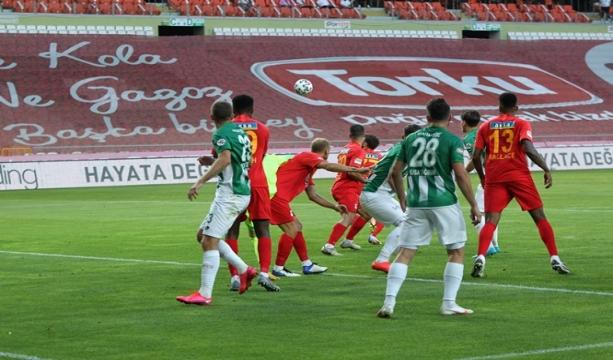 Süper Lig: Konyaspor: 1 - Yeni Malatyaspor: 1