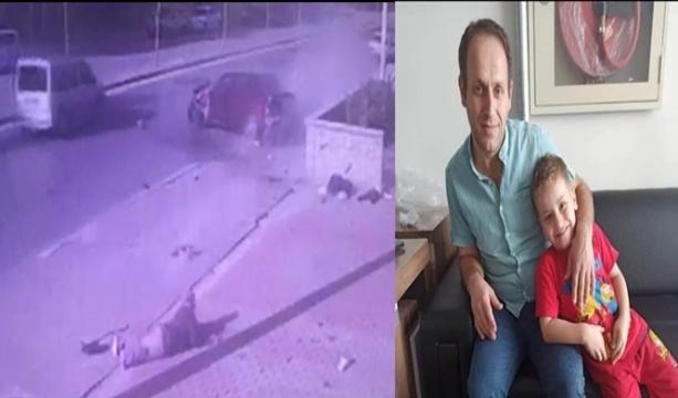 Konya'da Baba ve oğlunun öldüğü kaza kamerada -Tıkla izle