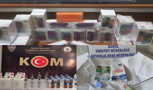 Konya'da 3 bin 370 araç ve sürücüye 1 milyon 484 bin lira ceza