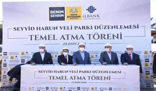 Seydişehir'de 2 büyük yatırımın temeli atıldı