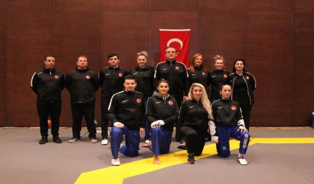 Kadın Tekvando Milli Takımı hazırlıklarına Konya'da devam ediyor