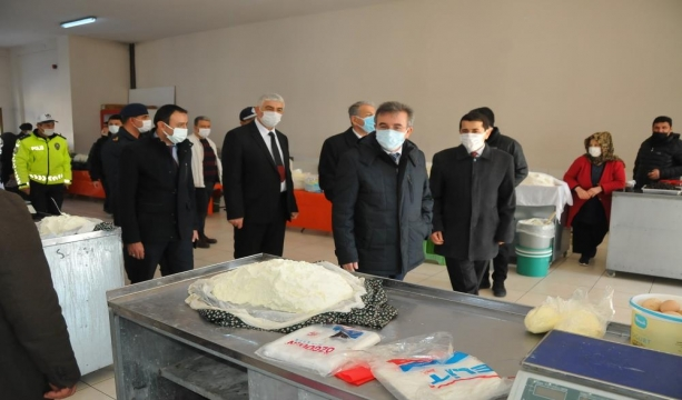 Akşehir'de pandemi denetimi