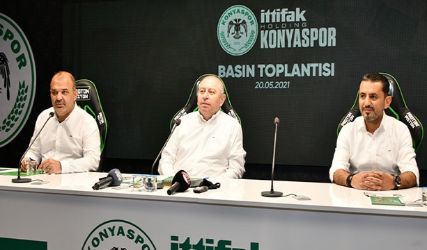 İttifak Holding Konyaspor Başkanı medya mensuplarının gündeme dair sorularını yanıtladı