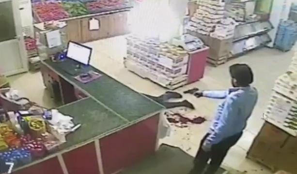 Konya'da Market sahibinin öldürülmesi kamerada