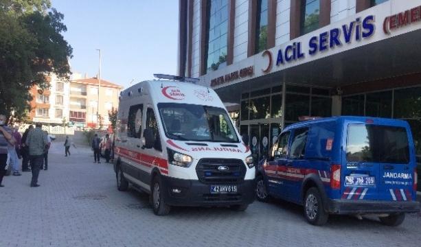 Konya'da iki otomobil çarpıştı 4 yaralı