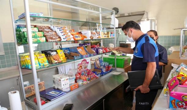 Meram'da Okul Kantinlerine Hijyen Denetimi