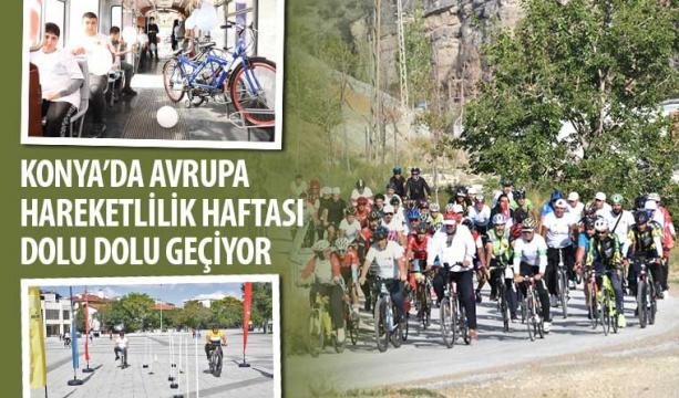 Konya'da Avrupa Hareketlilik Haftası Dolu Dolu Geçiyor