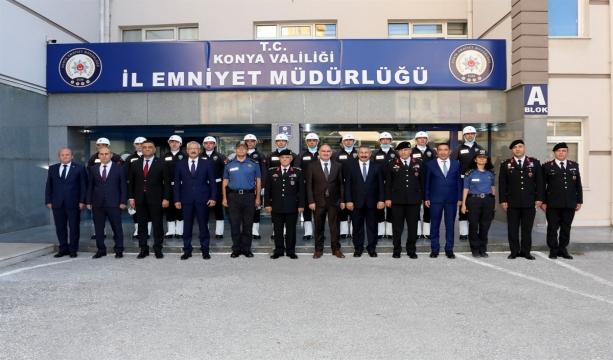 Jandarma Genel Komutanı Orgeneral Sayın Arif ÇETİN İl Emniyet Müdürlüğümüzü Ziyaret Etti