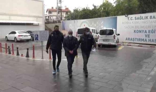 Konya'da Çöp konteynerine el yapımı patlayıcı bırakanlar yakalandı
